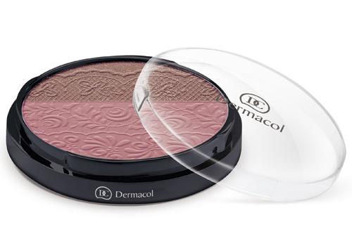 Dermacol Duo tvářenka (Duo Blusher) 8,5 g - SLEVA - uštípnuté víčko 1