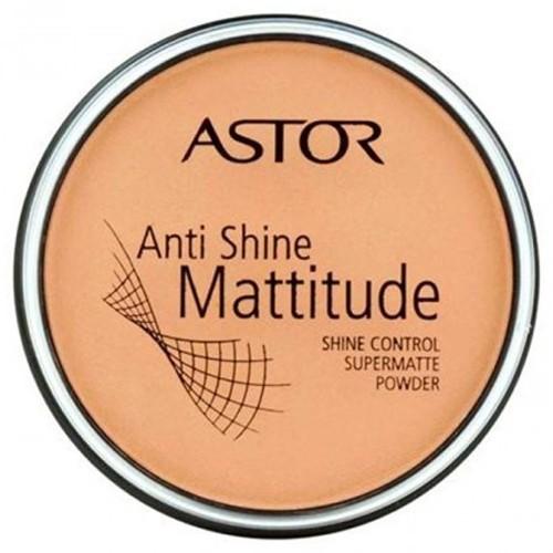 Astor Matující pudr Anti Shine Mattitude (Shine Control Supermatte Powder) 14 g - SLEVA - prasklé víčko 002 Porcelain