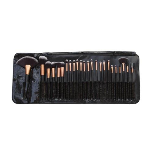 Rio-Beauty Profesionálna sada štetcov na make-up (Professional Make-Up Brush Set) 24 ks - ZĽAVA - poškodený obal