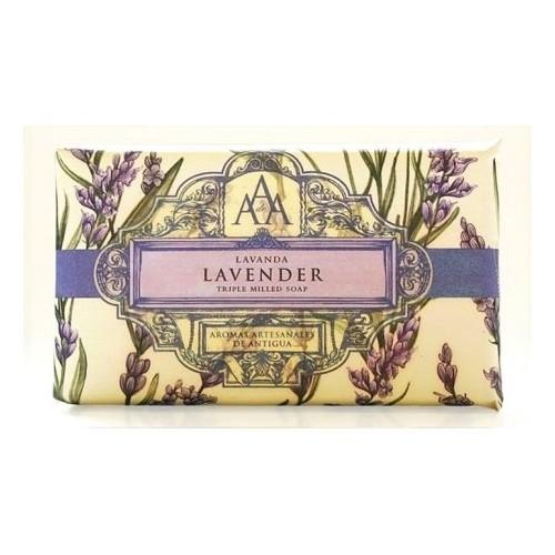 Somerset Toiletry Luxusní mýdlo v ozdobném papíru Levandule (Lavender Triple Milled Soap) 200 g