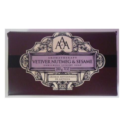 Somerset Toiletry Luxusní mýdlo v ozdobném papíru Muškátový oříšek a sezam (Enriching Luxury Soap) 200 g