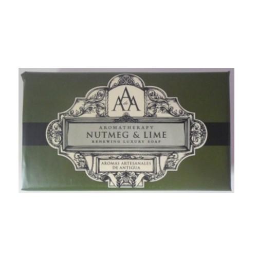 Somerset Toiletry Luxusní obnovující mýdlo v ozdobném papíru Muškátový oříšek a limetka (Renewing Luxury Soap) 200 g