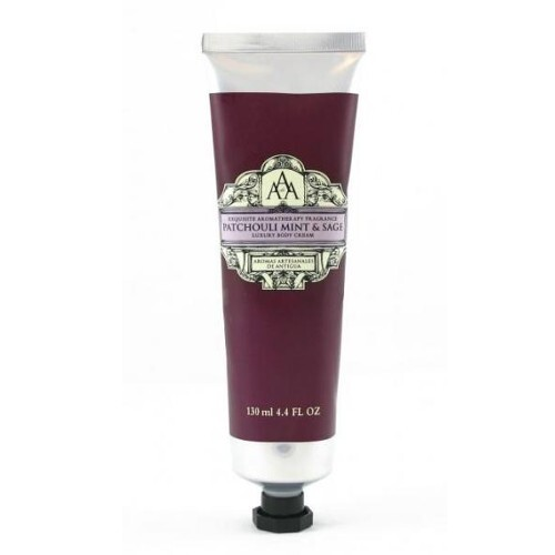 Somerset Toiletry Luxusní tělový krém s vůní pačuli, máty a šalvěje (Luxury Body Cream) 130 ml