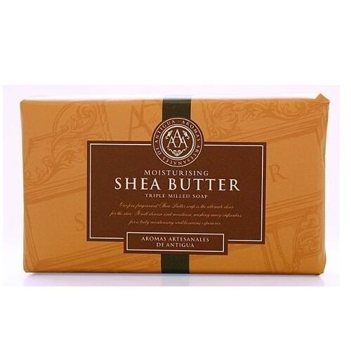 Somerset Toiletry Luxusní tuhé mýdlo v ozdobném papíru Bambucké máslo (Triple Milled Soap) 200 g