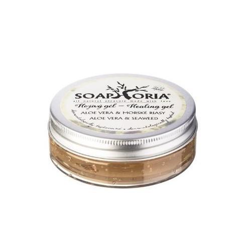 Soaphoria Upokojujúci gél aloe vera & morské riasy (Healing Gel) 50 ml