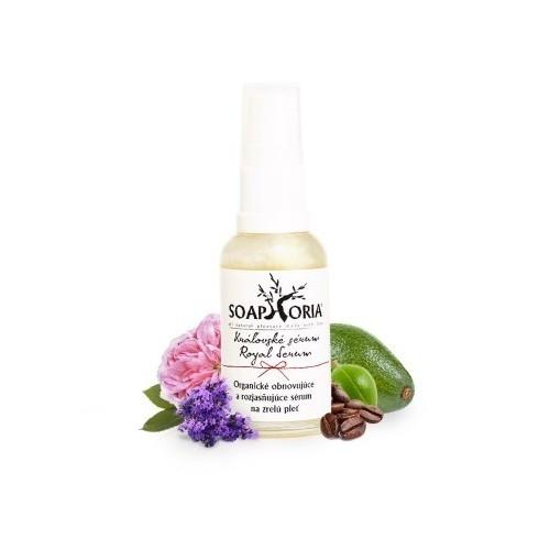 Soaphoria Organické pleťové Královské sérum - obnovující a rozjasňující na zralou pleť (Royal Serum) 30 ml