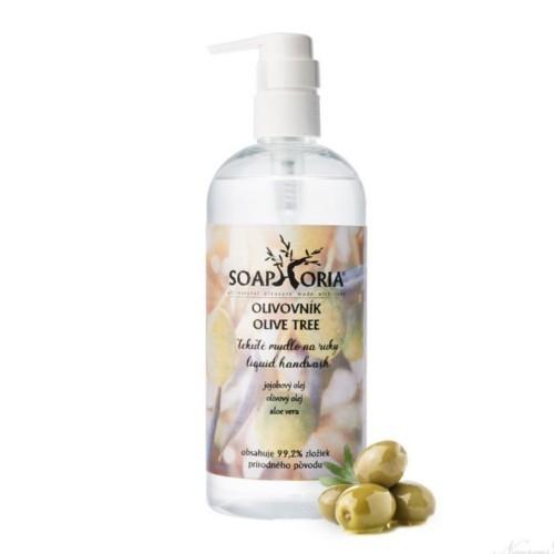 Soaphoria Organické tekuté mýdlo na ruce Olivovník (Liquid Hand Wash) 400 ml