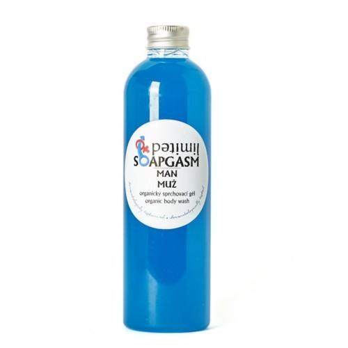 Soaphoria Organický sprchový gel Soapgasm Muž (Organic Body Wash) 250 ml
