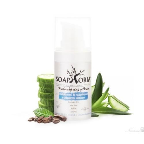 Soaphoria Revitalizačný & rozjasňujúci gélový krém na oči s chladivým účinkom - Kráľovské pleťové krémy (Royal Cream) 50 ml