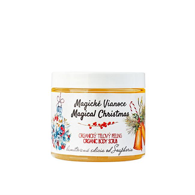 Soaphoria Tělový peeling Magické Vánoce (Organic Body Scrub) 200 ml