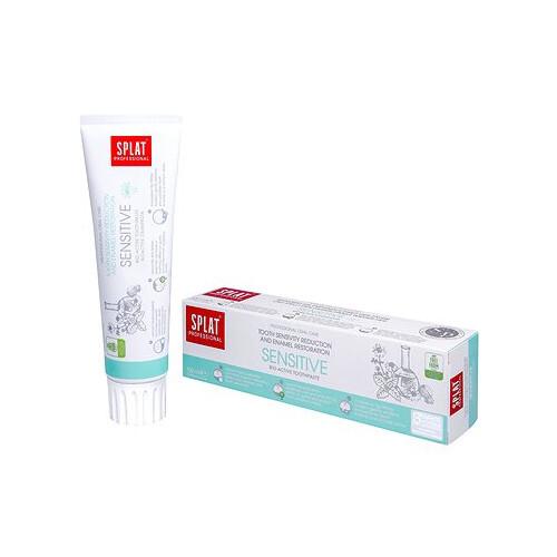 SPLAT Zubní pasta pro citlivé zuby Sensitive 100 ml - SLEVA - poškozená krabička