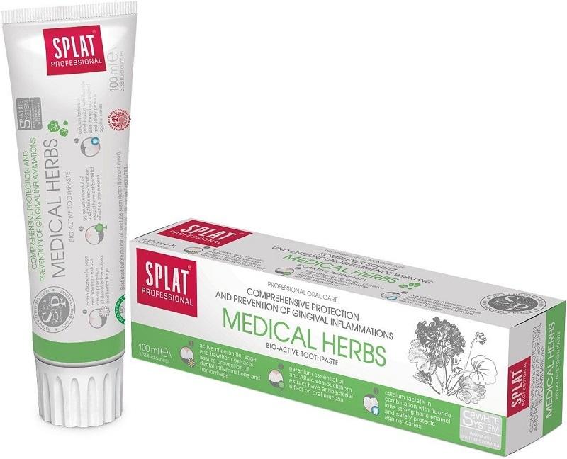 SPLAT Zubná pasta proti krvácaniu ďasien Medical Herbs 100 ml