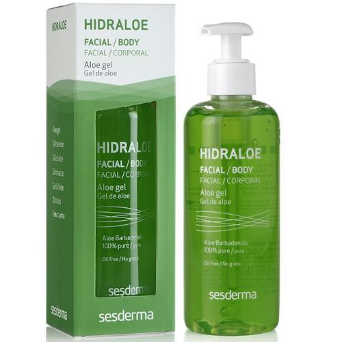 Sesderma Hydratační gel na obličej a tělo Hidraloe (Aloe Gel) 250 ml