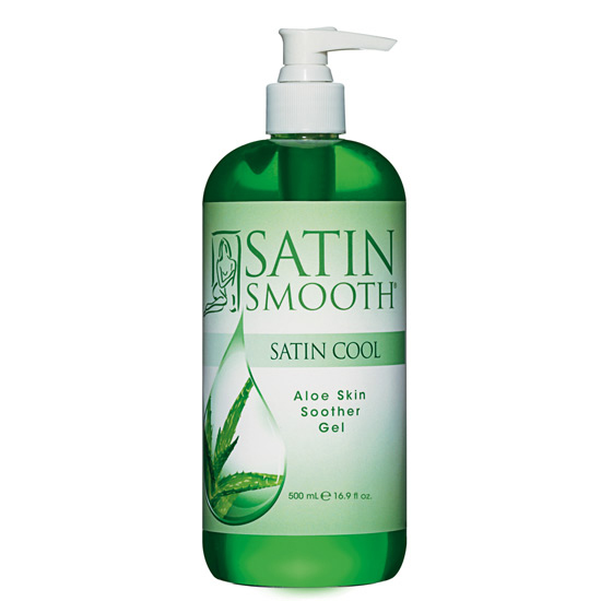 Satin Smooth Uklidňující a chladivý gel po depilaci (Satin Cool Soother Gel) 473ml
