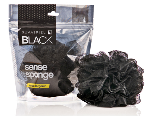 Suavipiel Pánská smyslná houba na mytí (Black Sense Sponge)