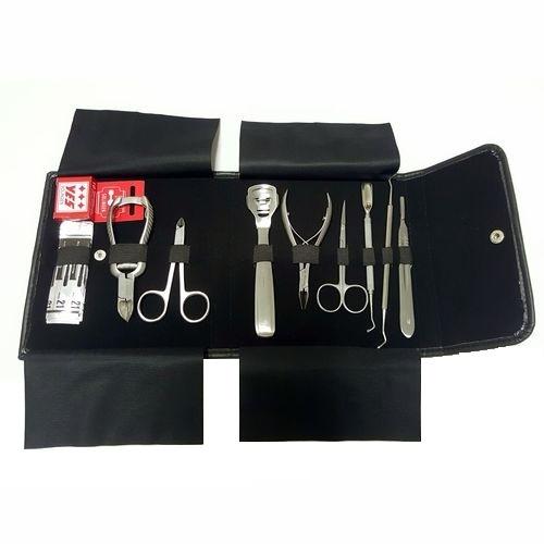 Surgana Set pro pedikérky - 10 nástrojů
