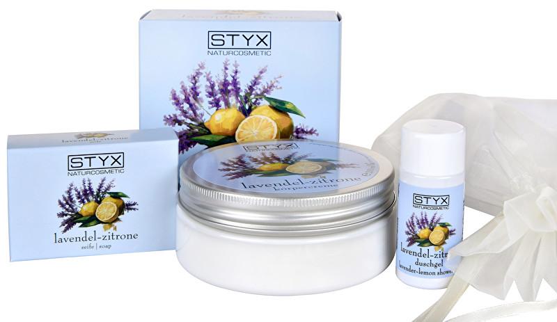 Styx Naturcosmetic Dárková sada tělové péče Levandule - citron