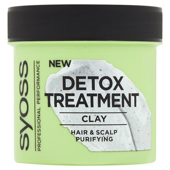 Syoss Hliněná kúra pro čištění vlasů a pokožky hlavy (Detox Clay) 200 ml