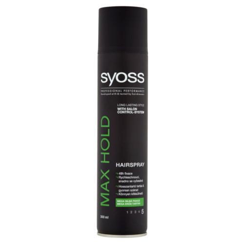 Syoss Lak na vlasy pro mega silnou fixaci Max Hold 5 (Hairspray) 300 ml