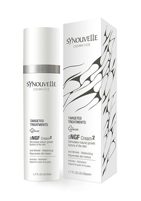 Synouvelle Cosmeceuticals Pleťový krém sNFG Cream2 pro suchou a zralou pleť (Anti Wrinkle Moisturizing Cream) 50 ml