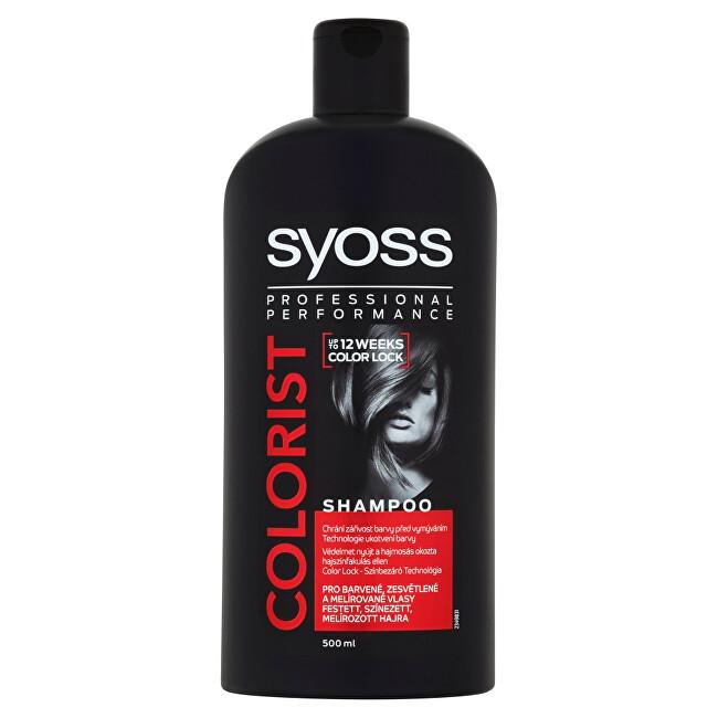 Syoss Šampón pre farbené, zosvetlené a melírované vlasy Colorist (Shampoo) 500 ml