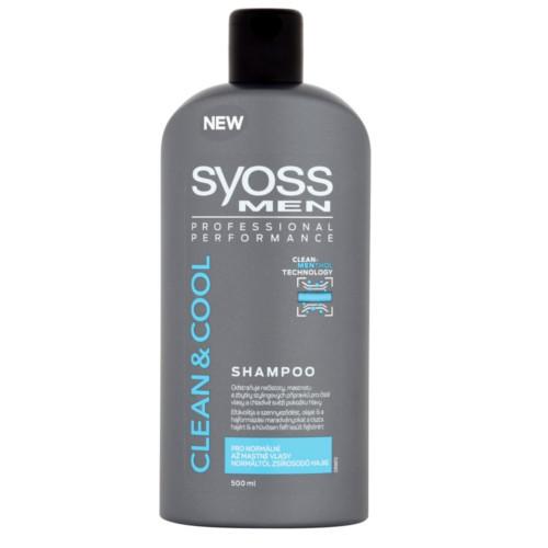 Syoss (Shampoo) pentru păr normal până la ulei 500 ml
