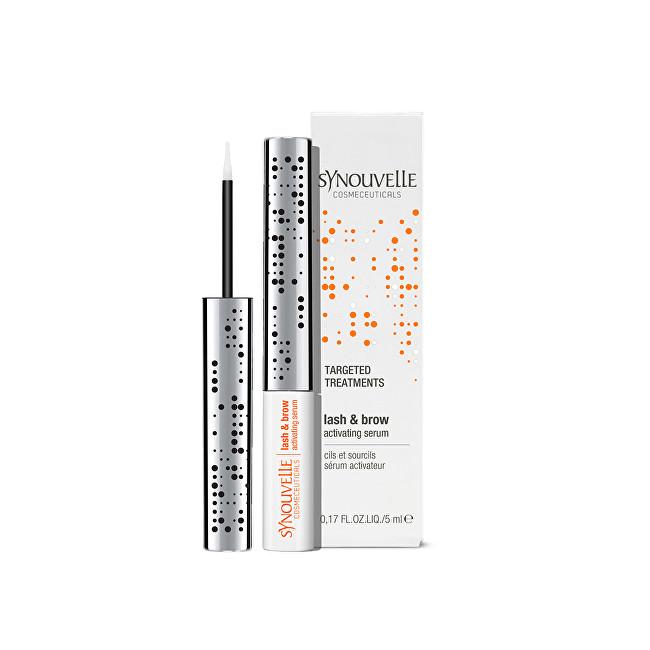 Synouvelle Cosmetics Vysoce výkonné sérum pro dlouhé řasy a plné obočí 2.0 (Lash & Brow Activating Serum Extra Sensitive) 5 ml