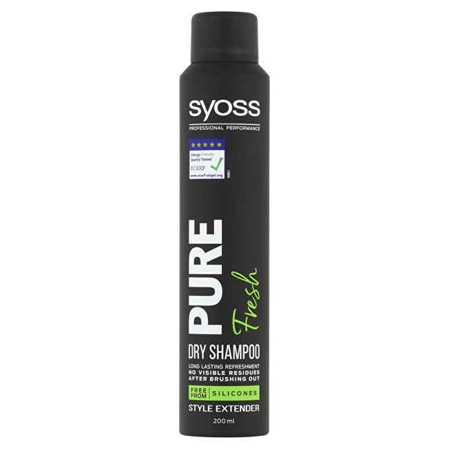 Syoss Suchý šampón Pure Fresh (Dry Shampoo) 200 ml