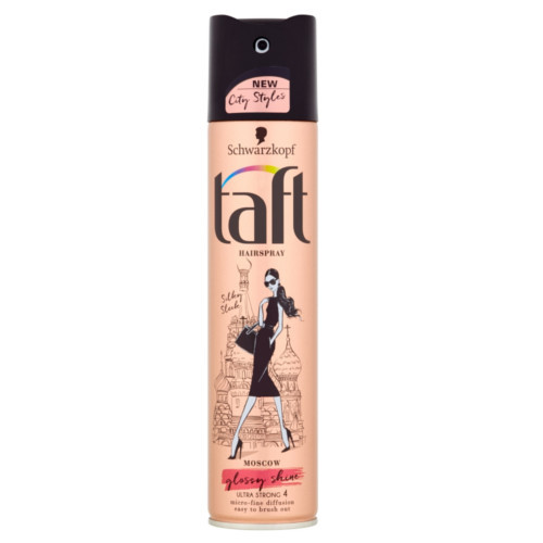 Taft Lak na vlasy Moscow Glossy Shine 4 (Hair Spray) 250 ml