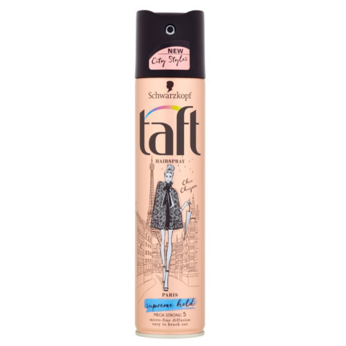 Taft Lak na vlasy Paris Supreme Hold 5 (Hair Spray) 250 ml