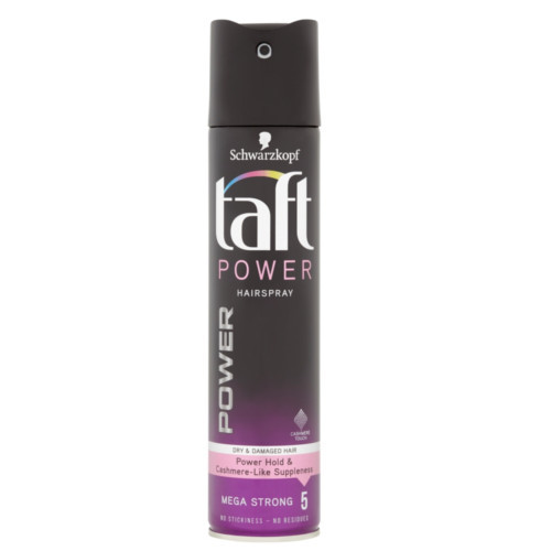 Taft Lak na vlasy Power Cashmere Mega Strong 5 (Hair Spray) 250 ml