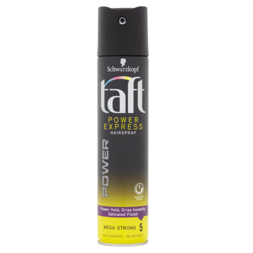 Taft Lak na vlasy Power Express Mega Strong 5 (Hair Spray) 250 ml