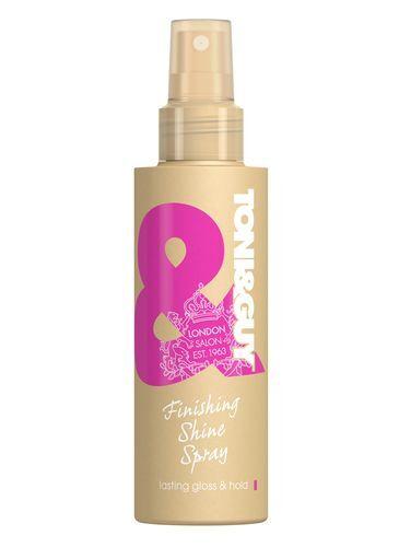 Toni&Guy Hydratační sprej pro lesk vlasů (Finising Shine Spray) 150 ml