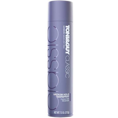 Toni&Guy Středně tužící lak na vlasy (Medium Hold Hairspray) 250 ml - SLEVA - bez víčka