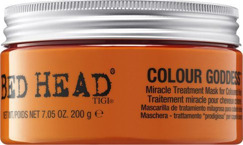 Tigi Obnovujúci maska na farbené vlasy Bed Head Colour Goddess ( Miracle Treatment Mask) 200 g