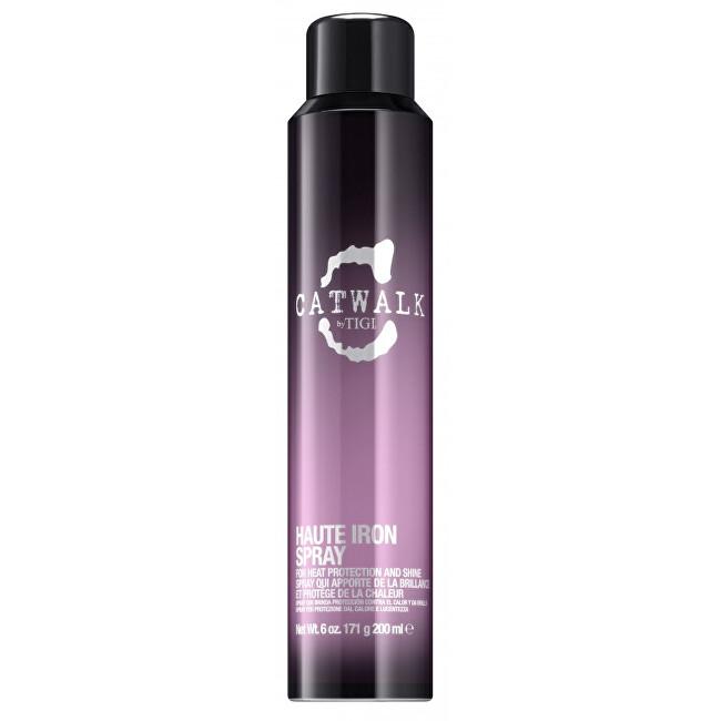 Tigi Sprej pro tepelnou úpravu vlasů Catwalk (Sleek Mystique Haute Iron Spray) 200 ml