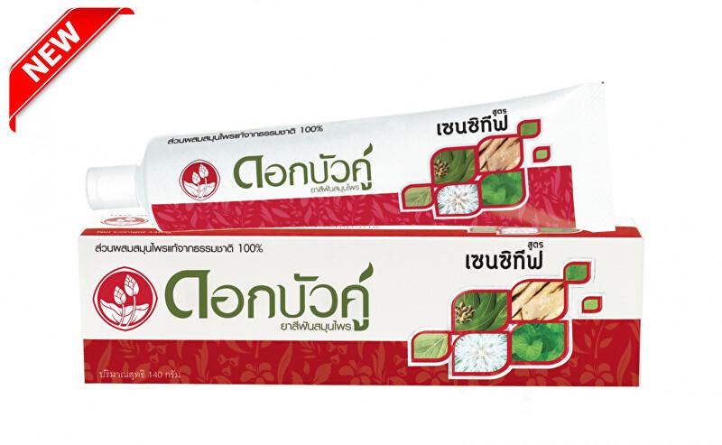 Twin Lotus Bylinná zubná pasta Sensitiv e 140 ml