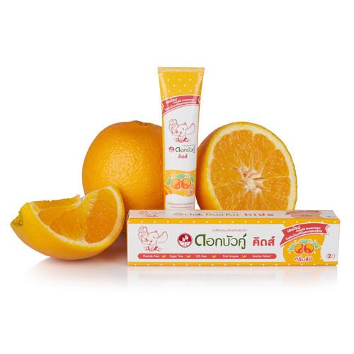 Twin Lotus Kids Orange bylinná dětská zubní pasta Pomeranč 35 ml