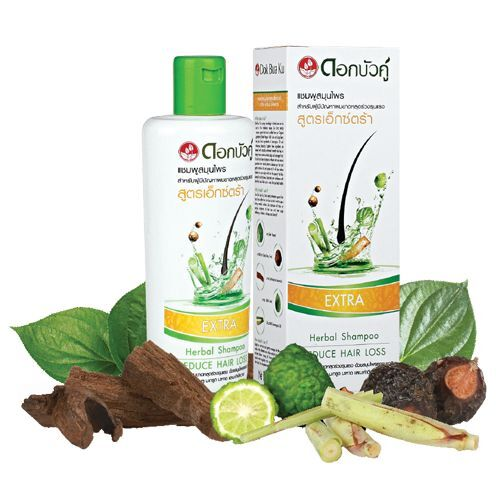 Twin Lotus Intenzivní bylinný šampon proti vypadávání vlasů-Extra (Herbal Shampoo-Extra) 300 ml
