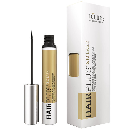 Tolure Cosmetics Veganské sérum na řasy a obočí HairPlus X10 Lash 3 ml