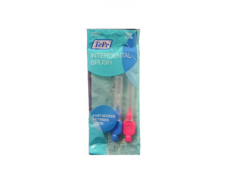 TePe Interdental Brush Normal Mezizubní kartáčky 0,4 mm - 0,6 mm 2 ks