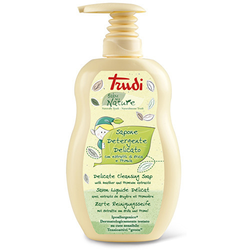 Trudi Nature hypoalergenní dětské tekuté mýdlo s výtažky z prvosenky a vřesu 400 ml