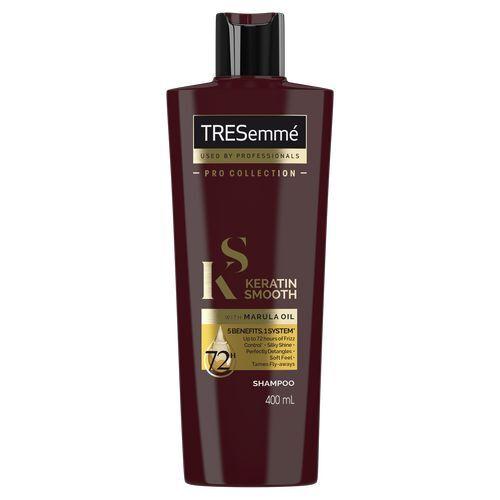 TRESemmé Šampon s keratinem pro hladké vlasy bez krepatění (Keratin Smooth Shampoo) 400 ml