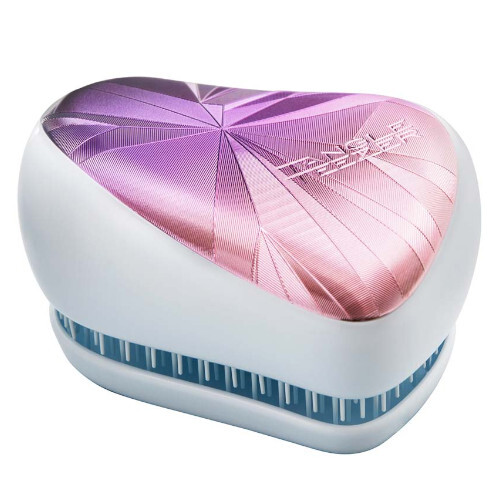 Tangle Teezer Profesionálna kefa na vlasy Tangle Teezer Smashed Holo Blue (Compact Styler)