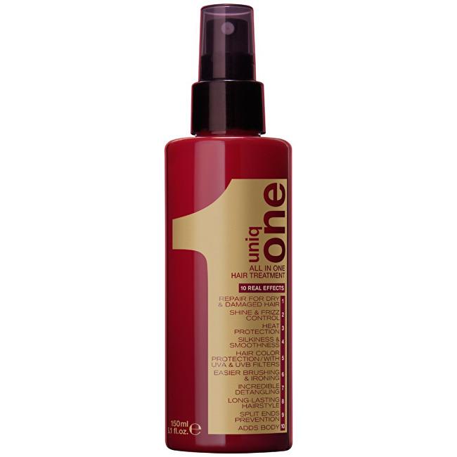 Uniq One Unikátní vlasová kúra 10 v 1 (All In One Hair Treatment) 150 ml - SLEVA - poškozená krabička