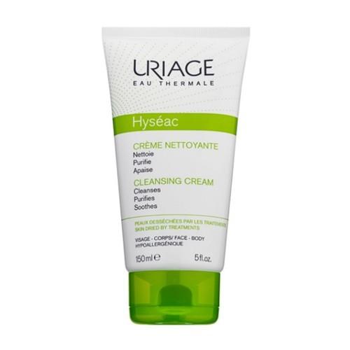 Uriage Čisticí krém pro mastnou pleť Hyséac (Cleansing Cream) 150 ml