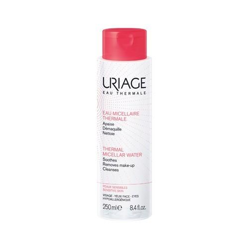 Uriage Čisticí micelární voda pro citlivou pleť se sklonem ke zčervenání Eau Thermale (Thermal Micellar Water) 250 ml