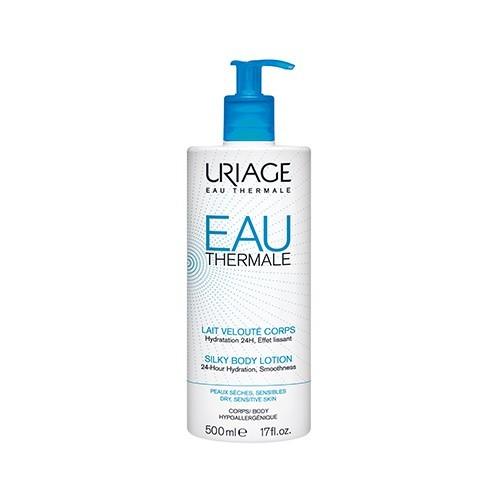 Uriage Hedvábné tělové mléko pro suchou a citlivou pokožku Eau Thermale (Silky Body Lotion) 200 ml