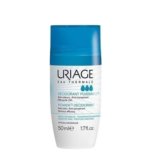 Uriage Kuličkový deodorant roll-on Puissance3 (Power3 Deodorant) 50 ml