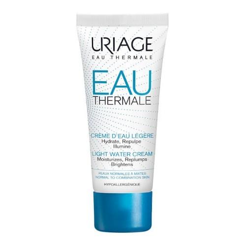 Uriage Lehký hydratační krém pro normální a smíšenou pleť Eau Thermale (Light Water Cream) 40 ml